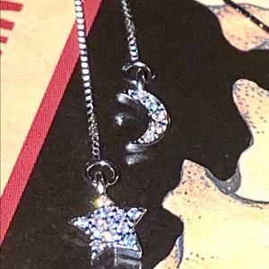 Astro dangle earrings